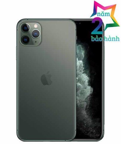 iPhone 11 Pro Max 512gb Mightnight Green Xách Tay Mỹ-BH Elite & More