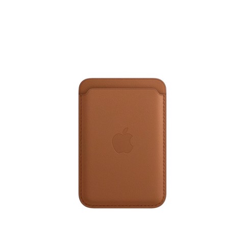 Ví iPhone Leather Wallet with MagSafe - Saddle Brown