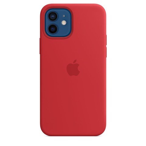 Ốp Silicone Case with MagSafe Iphone 12 - (PRODUCT)RED
