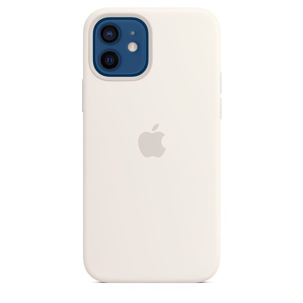 Ốp Silicone Case with MagSafe Iphone 12 - White