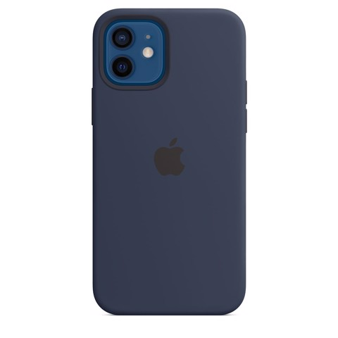 Ốp Silicone Case with MagSafe Iphone 12 - Deep Navy
