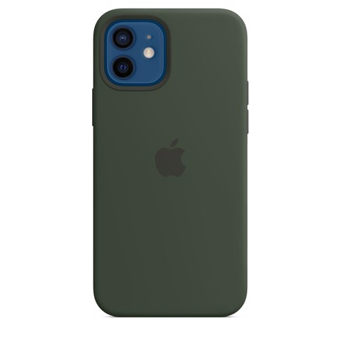 Ốp Silicone Case with MagSafe Iphone 12 - Cyprus Green