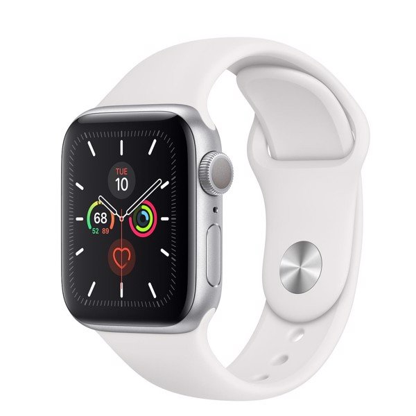 Apple Watch 5 40mm (GPS) bản Silver Viền Nhôm (MWV62)