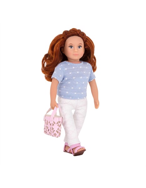 LORI Saffron Doll With Lace Pants