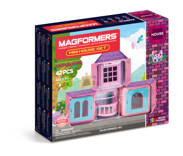 Mini House Set 42P