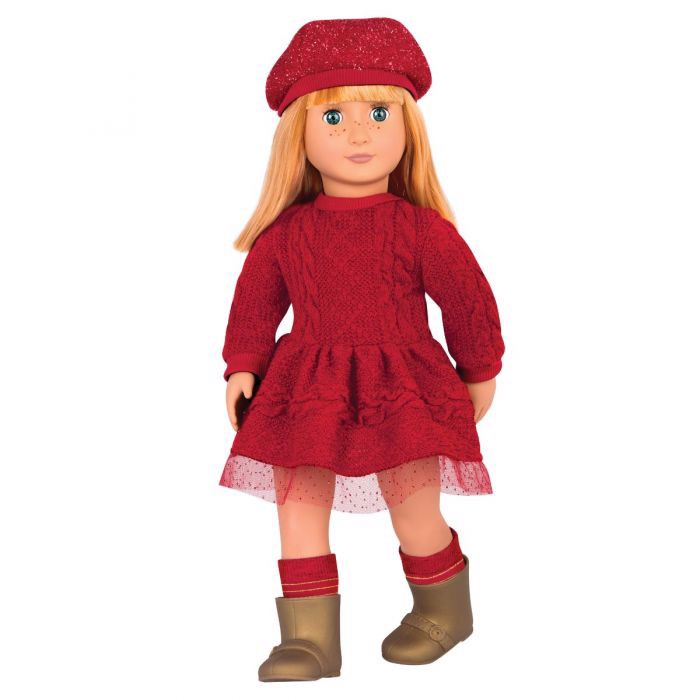 Vanessa Eve Doll With Red Dress