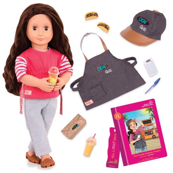 Rayna Doll - Deluxe Food Truck W/ Book