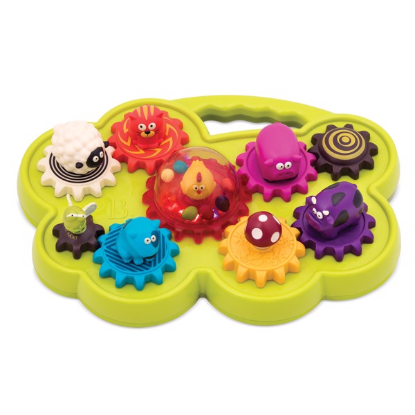 B. Musical animal shape sorter