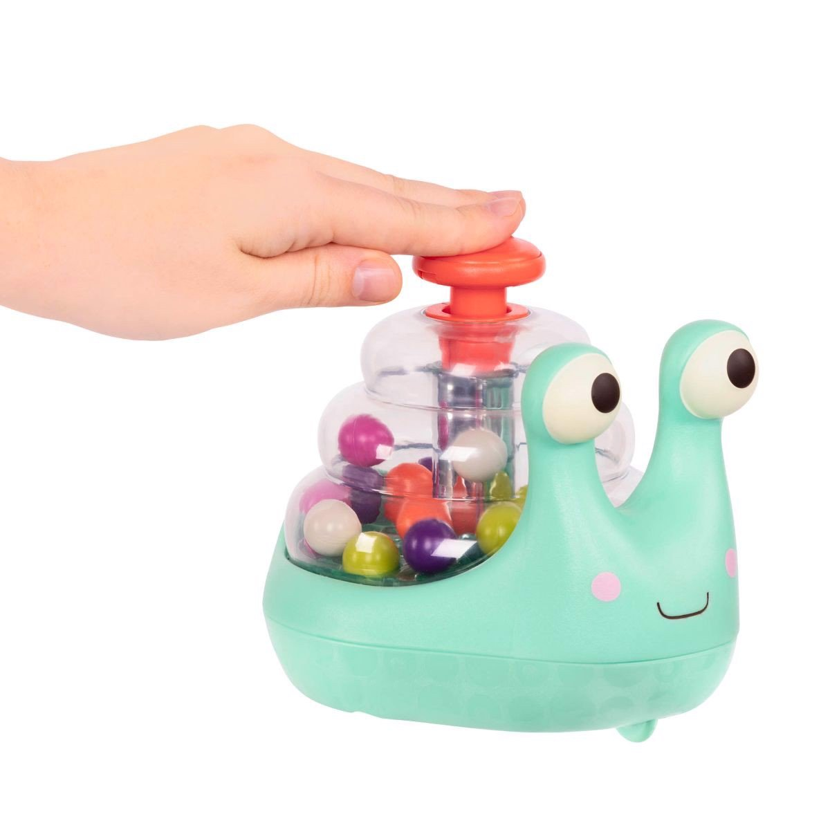 B. Rolling Light-Up Snail Popper