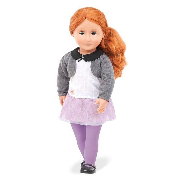 Ella Grace Doll With Lace & Tulle Skirt