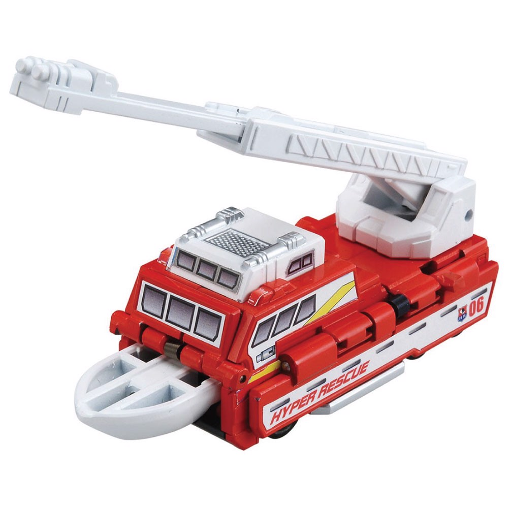 Hyper Rescue AC06 Fireship (Character Toy)