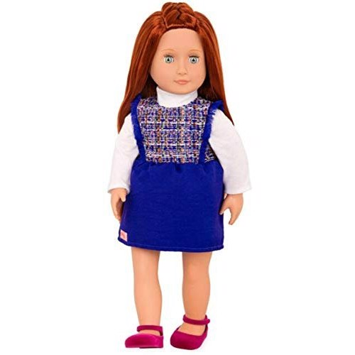 Lenaya Doll W/ Tweed Dress
