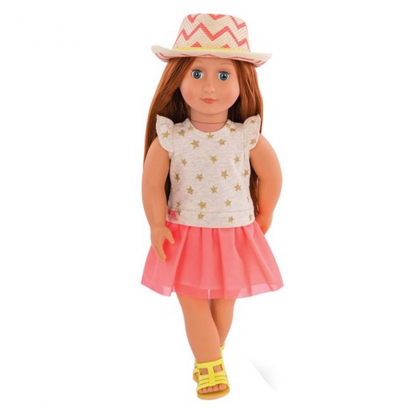 Clementine Doll With Dress & Hat Outfit