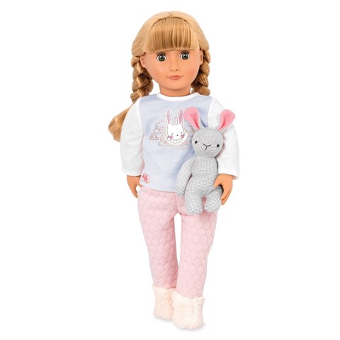 Doll With Pijama & Bunny - Jovie