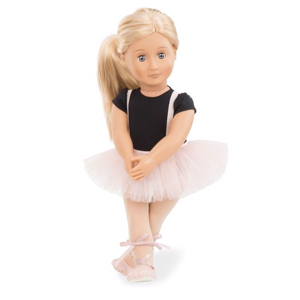 Violet Anna Ballet Doll With Tutu Skirt