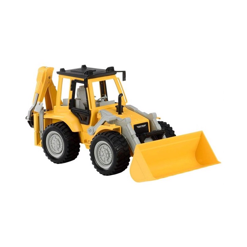 Driven backhoe loader, mid-sized