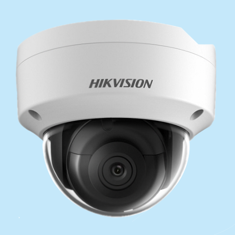 DS-2CD2123G0-I: Camera IP Dome hồng ngoại 2MP