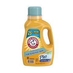 Nước Giặt Arm & Hammer Sensitive Skin 1470Ml