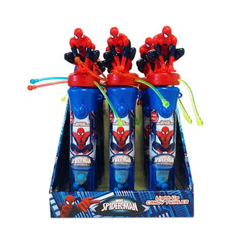 Kẹo Đồ Chơi Spiderman Light Up Twirler CD
