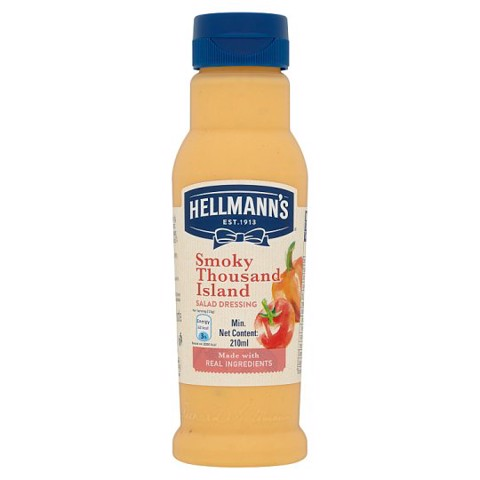 Sốt Salad Smoky Thousand Island Hellmann'S Philippines 210ml