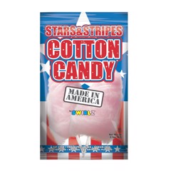 Kẹo bông gòn Stars and Stripes Cotton Candy Taste of Nature 88g