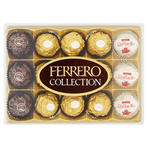 socola Ferrero Collection Ý 172gr