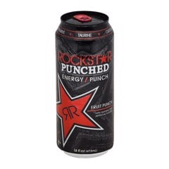 Nước tăng lực Rockstar Fruit Punch Energy Drink 473ml