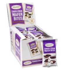 Bánh Dolcetto Petites Cookies & Cream Wafer Bites 20gr