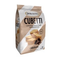 Bánh xốp Dolcetto Cubetti Chocolate 249gr