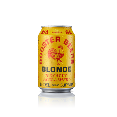 Bia Gà Blonde Rooster Beers Blonde 330ml