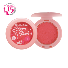 PHẤN MÁ HỒNG SILKYGIRL BLOOM 'N' BLUSH 01 PRETTY PINK