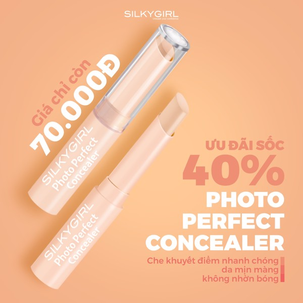 CHE KHUYẾT ĐIỂM THỎI PHOTO PERFECT CONCEALER.