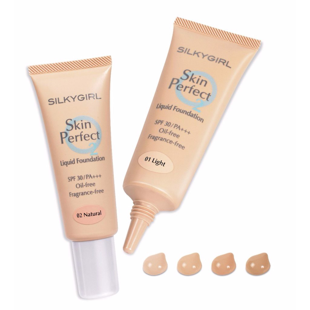 Kem nền lỏng Silkygirl Skin Perfect Liquid Foundation SPF 30/PA+++