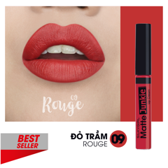 Son kem Silkygirl Matte Junkie Lip Cream - 09 Rouge