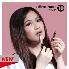 Son kem Silkygirl Matte Junkie Lip Cream - 10 Cupid