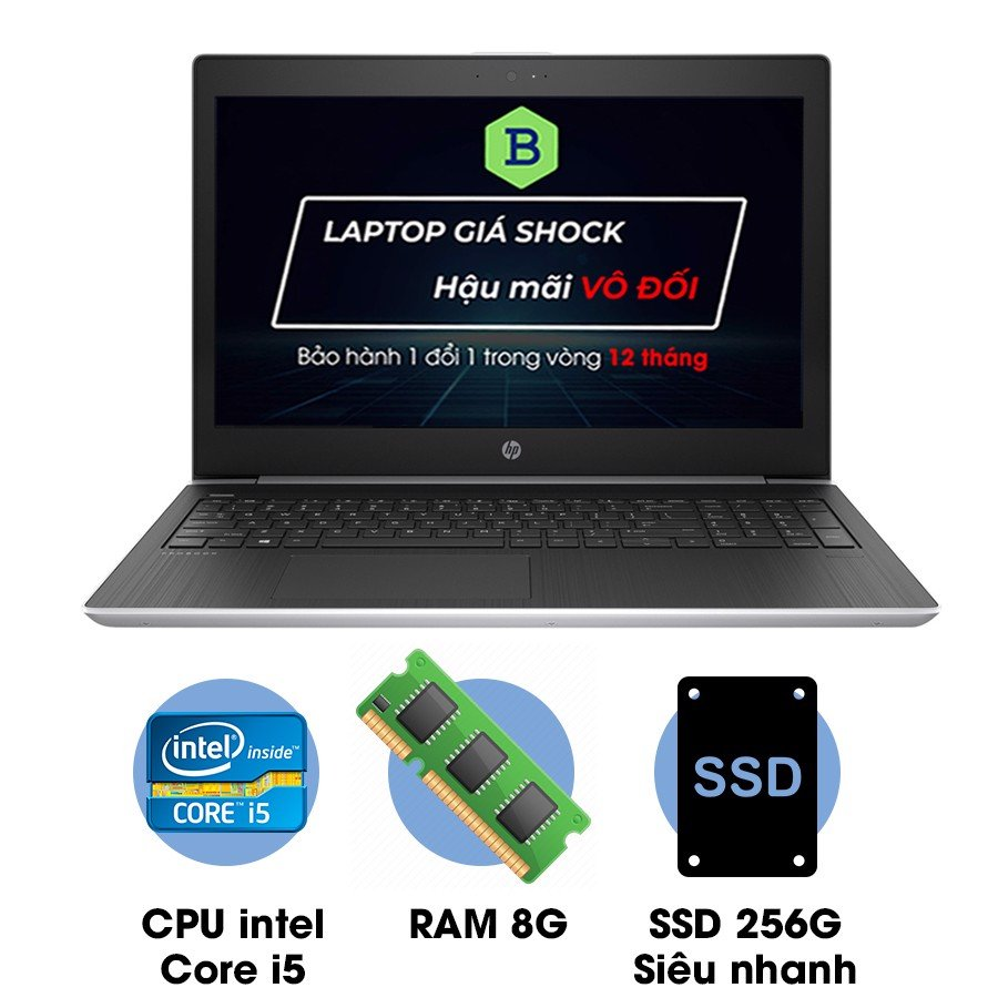 Laptop cũ HP ProBook 450 G5 Core i5-7200