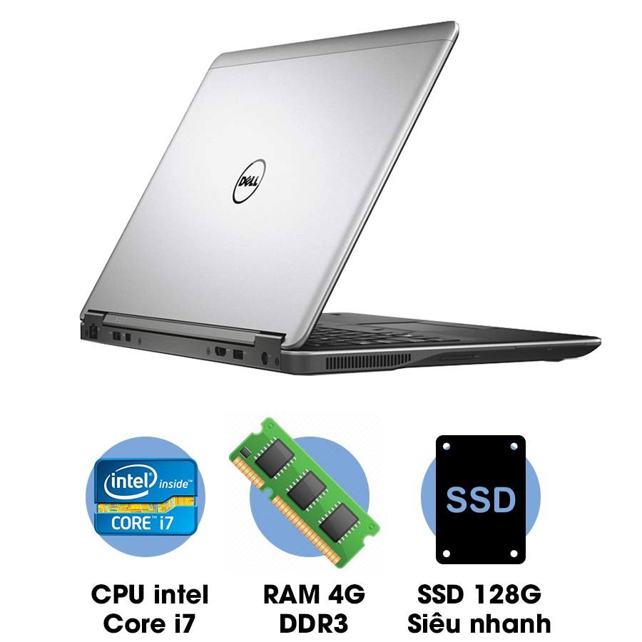 Laptop cũ Dell Latitude E7240 Core i7-4600U
