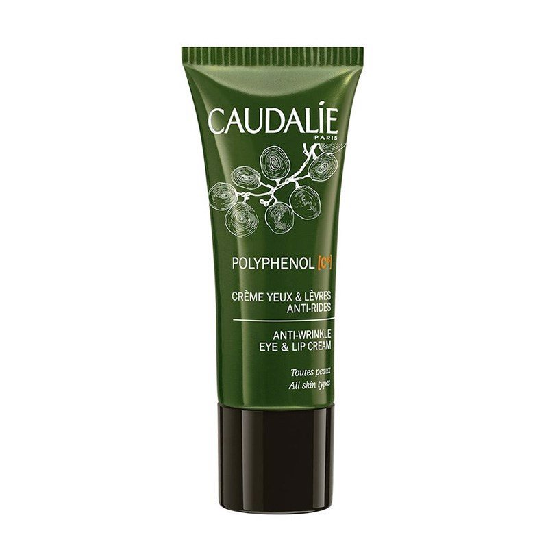 Caudalie Polyphenol C15 Anti - Wrinkle Eye And Lip Cream - Kem dưỡng mắt môi