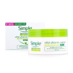 Simple Kind To Skin Vital Vitamin Cream Night 50ml - Kem Dưỡng Đêm
