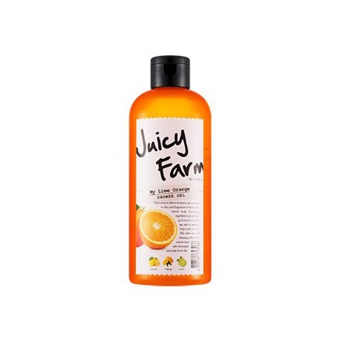Gel tắm Missha Juicy Farm Shower Gel - my lime orange