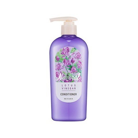 Dầu xả Missha Natural Lotus Vinegar Conditioner