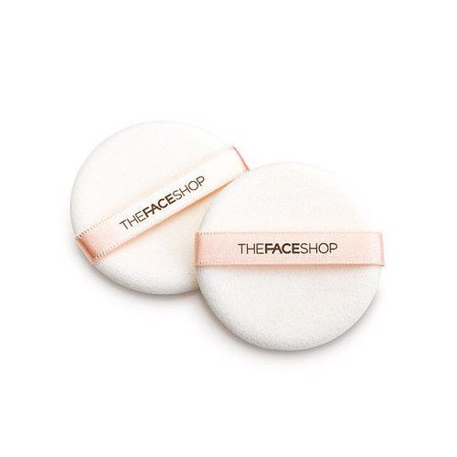 Bông phấn The Face Shop Daily Beauty Tools Round Flocked Puff