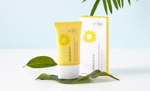 Kem chống nắng Innisfree Perfect UV Protection Cream Long Lasting - For Oily Skin SPF 50+/PA+++