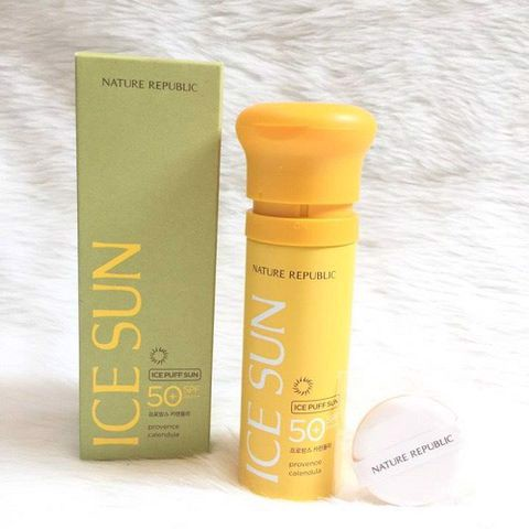 Kem Chống Nắng Ice Puff Sun Nature Republic SPF 50 PA+++