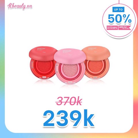 Má hồng Moisture Cushion Blush FMGT