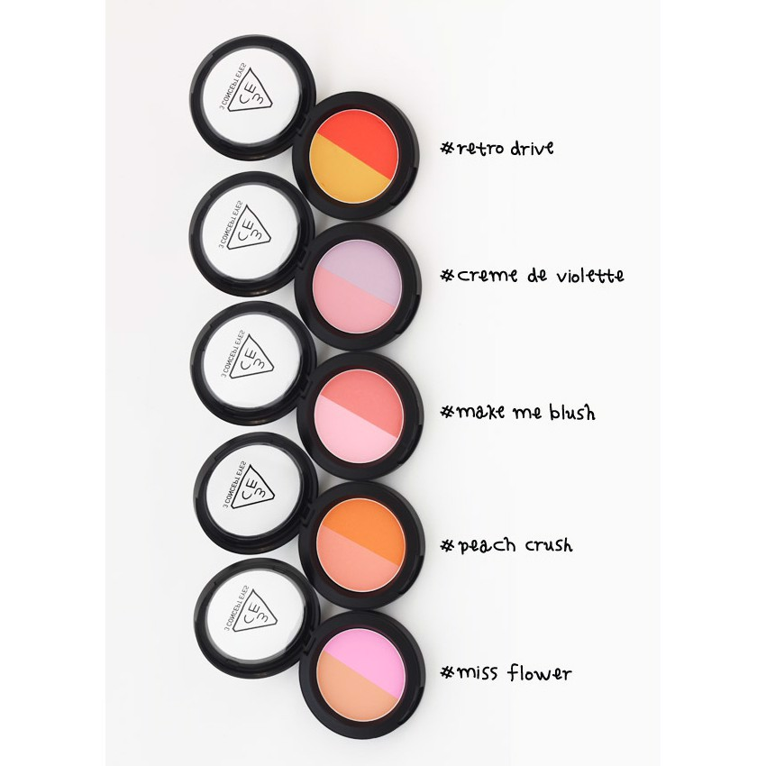 Phấn Má Hồng 3CE Duo Color Face Blush