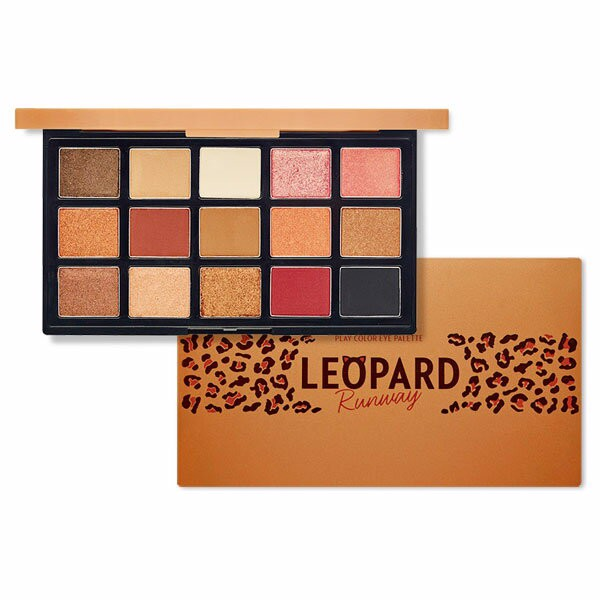 Phấn Mắt Etude House Play Color Eye Palette Leopard Runway