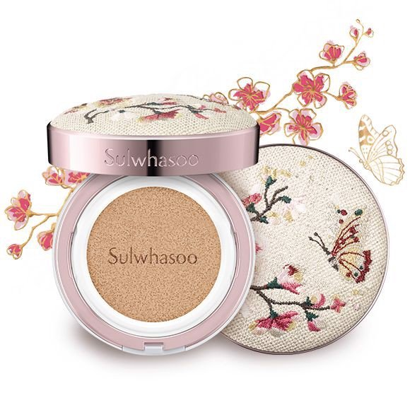 PHẤN NƯỚC SULWHASOO PERFECTING CUSHION EX NO.21 NATURAL PINK