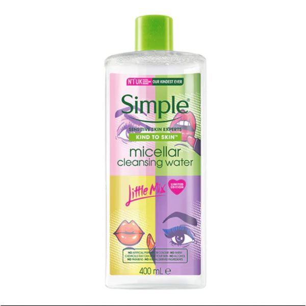 Nước tẩy trang Simple x Little Mix Micellar Cleansing Water - Limited Edition