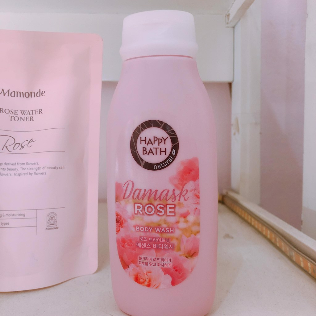 Sữa Tắm Happy Bath damask rose